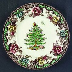 mix with my Spode Christmas Tree china