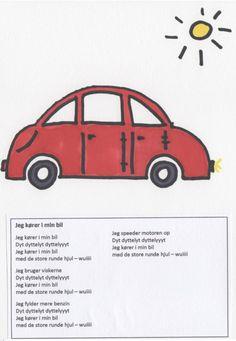 Sangbog for børn - en lille illustreret sangbog til de mindste Brain Breaks, Escape Room, Singing, Language, Sang, Youtube, Bb, Music, Brain Training