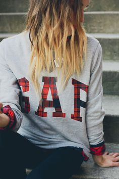GAP styld.by // Plaid about You