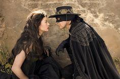 The Mask of Zorro: Elena and Alejandro (Antonio Banderas & Catherine Z. Jones)