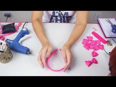 Como Tiara Casquete Laços em Camadas Passo a Passo - YouTube
