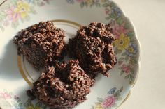 No-Bake Chocolate Coconut Macaroons (Grain-free, Dairy-free, No Refined Sugar) - Red and Honey