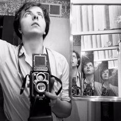 Vivian Maier American street photographer making use of mirrors...