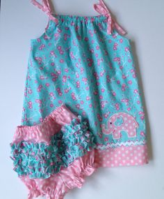 Baby Girl Toddler Pillowcase Dress Ruffle by MimiStitchesByBonnie, $24.99