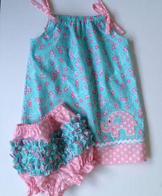 Baby Girl Toddler Pillowcase Dress Ruffle by MimiStitchesByBonnie, $24.99