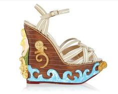 The Charlotte Olympia Maiden Voyage Embodies a Seaside Atmosphere #charlotteolympia #shoes trendhunter.com