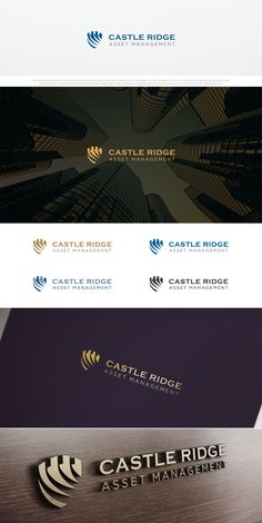 Logo Design representing security and trust for asset management firm. Management Logo, Wealth Management, Asset Management, Office Branding, Logo Branding, Branding Design, Logo Design, Graphic Design, Security Logo