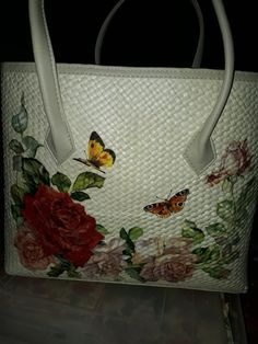 Handbag decoupage