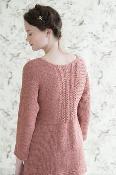 peony by pam allen / quince & co kestrel in sand