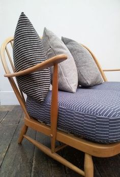 Eleanor Pritchard upholstered Ercol chair
