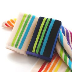 Rainbow striped beach towels | Rainbow Towel