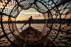 Fisherman on Inle Lake by Danish Photos on 500px