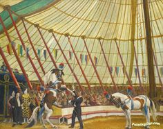 View Under the big top by Dame Laura Knight on artnet. Browse upcoming and past auction lots by Dame Laura Knight. Horse Posters, Knight Art, Circus Art, English Artists, Big Top, Art Prints For Sale, Vintage Artwork, Magazine Art, Art Market