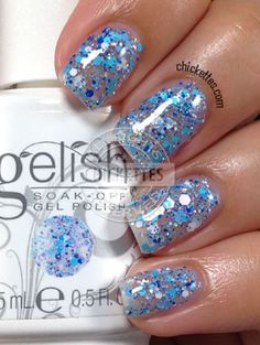 Gelish Trends - Feeling Speckled - Spring 2014