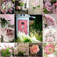 Want for my Enchanted Garden Amazing Gardens, Beautiful Gardens, Beautiful Flowers, Collages, Color Collage, Beautiful Collage, All Nature, Romantic Roses, Enchanted Garden