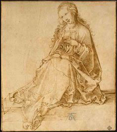 L Annonciation,  Albrecht Dürer (1471-1528, Germany)