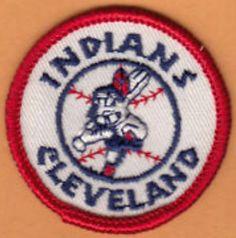 Vintage Cleveland Indians Patch