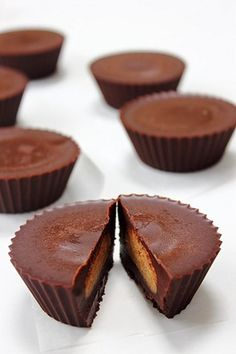 raw chocOlate nut butter cups