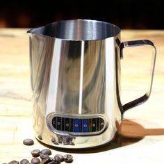 Fantastic Kitchen Stainless Steel Milk Frothing Barista Jug with Thermometer 600ml  #Kitchen #Kitchenutensils #Kitchengadgets #GBBO