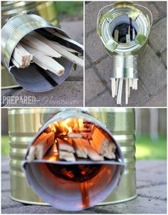 How to make a rocket stove.
