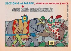 Circus parade section 4 by shelece, via Flickr