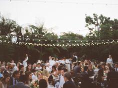 Elegant Del Mar Garden Wedding  Read more - http://www.stylemepretty.com/2014/02/26/elegant-del-mar-garden-wedding/