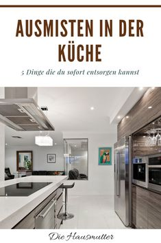 2777ee432cc841 5 Dinge die aus deiner Küche verschwinden können