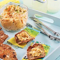 Tartinade onctueuse aux crevettes nordiques - Recettes - Cuisine et nutrition - Pratico Pratique