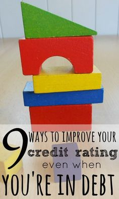 Whether you're in debt or not, there are ways in which you can help to improve your credit rating, giving you more chances of getting a good credit score in the future.