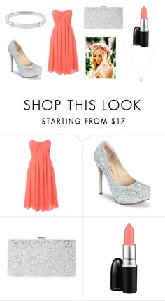 """""""This is what my bridesmaids will look like."""" by rojoubdalia on Polyvore featuring Glamorous, Lauren Lorraine, Sondra Roberts, MAC Cosmetics and Michael Kors"""