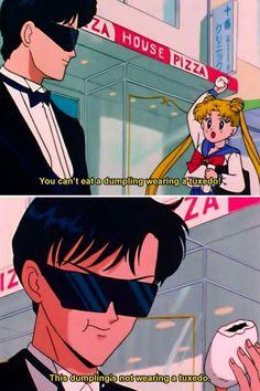 Sassy tuxedo mask ... #SailorMoon