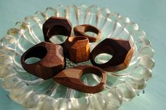 wooden rings-awesome!