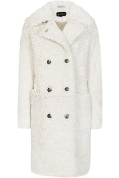 CONSPICUOUS CONSUMPTION  High-street brand Reiss's Clemi shearling coat 2015