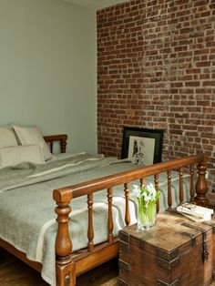 Brick Walls Working Space Pinterest Bricks Walls And - 65 impressive bedrooms with brick walls
