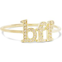 Jennifer Meyer BFF 18-karat gold diamond ring