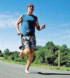 Chris McDougall. barefoot running man'o'war