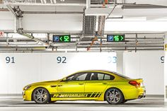 Yellow Submarine van 328 km/h: BMW M6 GC RS800