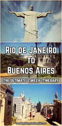 The ultimate introduction to South America: 2 weeks through Rio de Janeiro, Iguazu Falls, and Buenos Aires #travel #itinerary