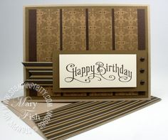 It's hard to find masculine cards... but i like this one!