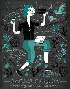 Mujeres en la ciencia: Rachel Carson