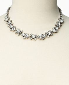 Short Crystal Necklace | Ann Taylor