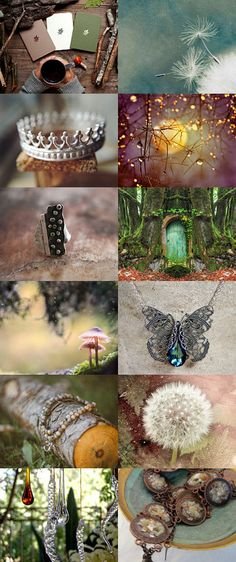 Story of a Forest Queen by Nevenka Sabo on Etsy--Pinned with TreasuryPin.com
