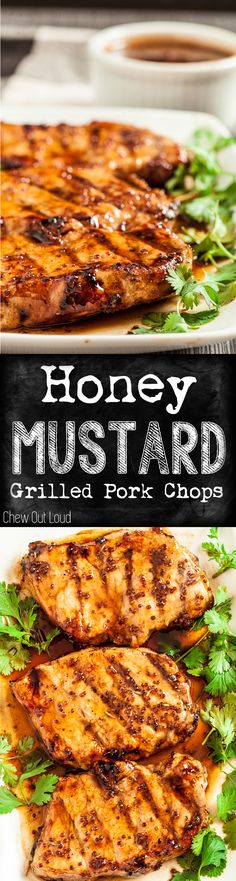 Super easy, quick, & yummy! Perfect for grilling before summer's over!  #healthy #porkchops #dinner