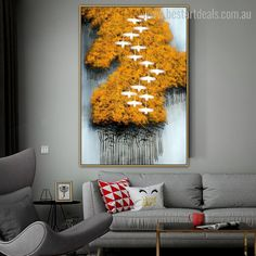 Make your space adorable by adding this stunning yellow trees stretched digital painting on your home walls.  #walldecoration #framedartwork #artgallery #artgoals Framed Artwork, Wall Art Prints, Online Art Store, Yellow Tree, Modern Frames, Shade Trees, Photo Canvas, Stretched Canvas Prints, Painting Frames