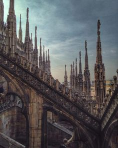 If you have time to do only one thing in Milan, climb to the top of the Duomo - Instagram by the_crowded_planet