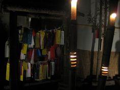 湯西川温泉の「竹の宵祭り」