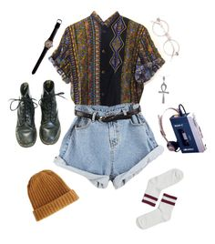 """chill dude"" by unpleasantunicorn ❤ liked on Polyvore featuring ASOS, Tressa and Monki"