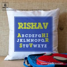 Alphabets © Personalised Cushions at Perfico.com