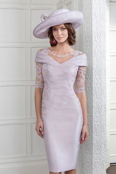 We round-up some of the best wedding day mother of the groom outfits out there and get some styling tips from the experts. How beautiful is this John Charles lilac mother of the groom dress? of the bride dress, Mother of the Groom Outfits Mother Of Bride Outfits, Mother Of Groom Dresses, Bride Groom Dress, Mothers Dresses, Mother Of The Bride Clothes, Groom Wedding Clothes, Mother Of The Bride Fashion, Mother Bride, Short Fitted Dress