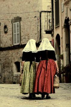 Costume Valldemosa, Isla de Mallorca, Archipiélago Balear, España